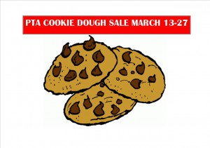 PTA Cookie Dough Sale