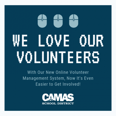 Check our out new volunteer system!