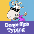 dancemat-typing