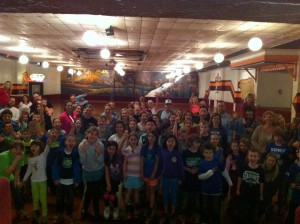 Lacamas Families have a great time skating, playing laser tag and spending time together!