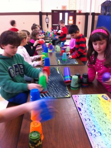 Join our Cup Stacking Club! Starting in February.