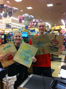 Lacamas students are spreading Kindness in our community! See our shopping bags at Safeway!