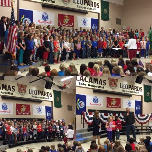 Veterans Assembly: Remembering and Thanking those who serve our country. Thank You Veterans!