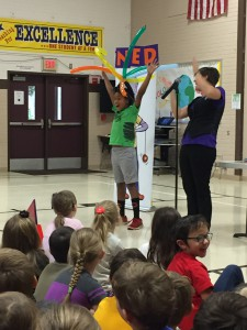 The NED Show supports our students with building positive character traits: Never give up! Encourage others! Do your best!