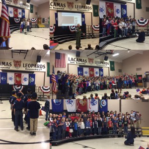Thank you to everyone who helped make our Veterans Assembly such a meaningful event honoring our service men and women.