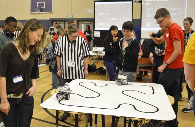 Robotics Classes Shine At Olympia Invitational Tournament Liberty