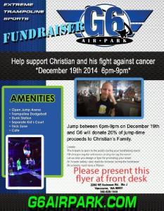Christian's Fundraiser