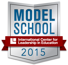 2015 National Model School badge