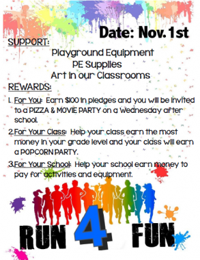 Our Jog-a-Thon is Coming Soon!