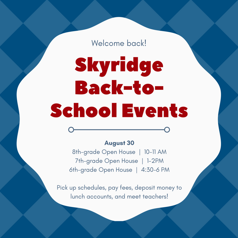 Skyridge BTS Events