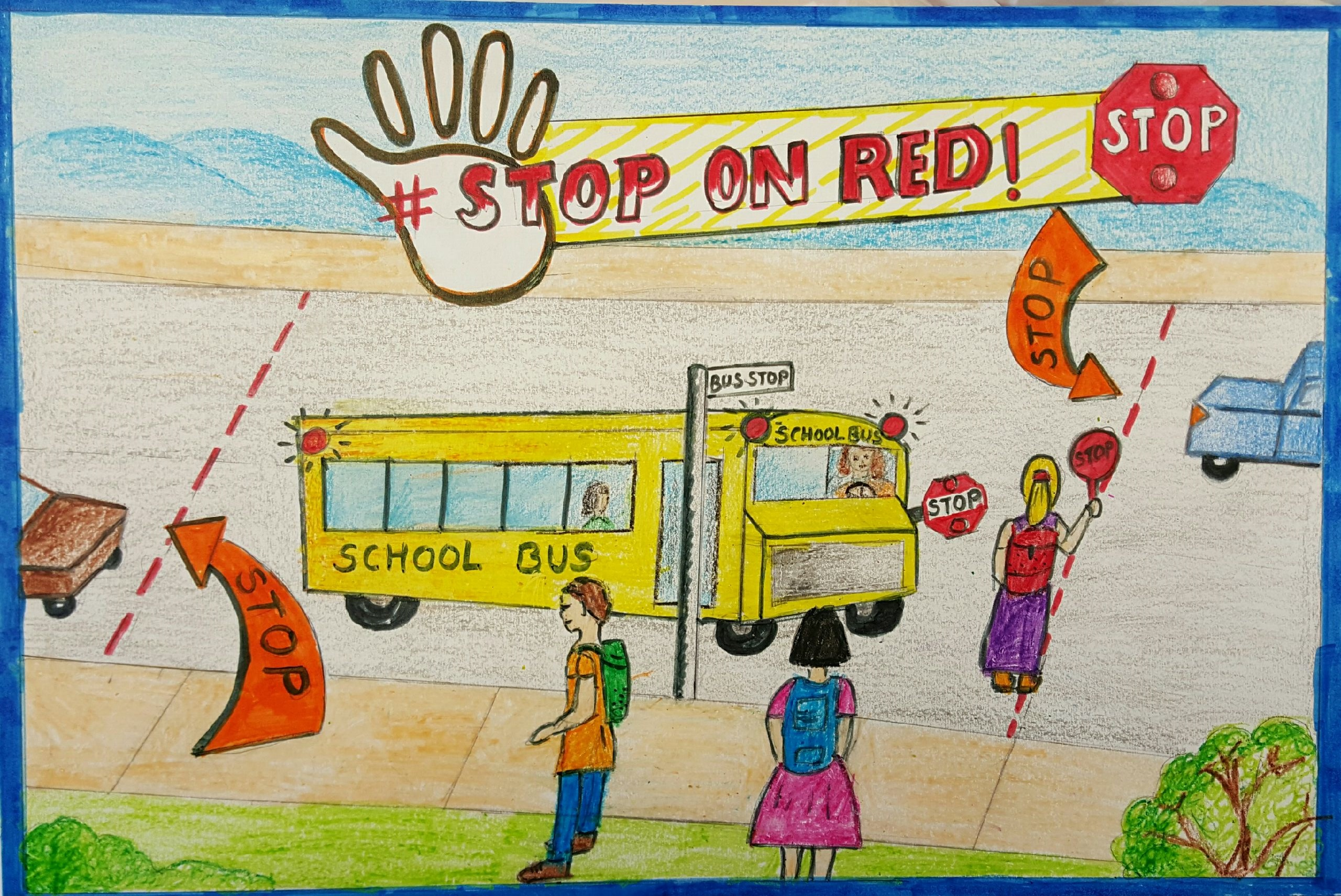 NATIONAL SCHOOL BUS SAFETY POSTER CONTEST | CSD Transportation
