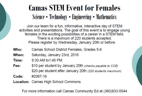 CSD STEM event